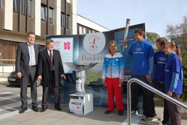 Olympijská štafeta bola v prvej polovici apríla aj v Nitre. V utorok 24. apríla príde do Šiah.