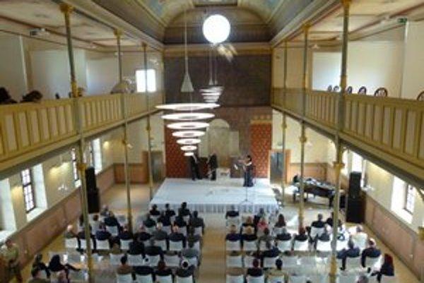 Levickú synagógu z roku 1883 po rekonštrukcii slávnostne otvorili 26. apríla.