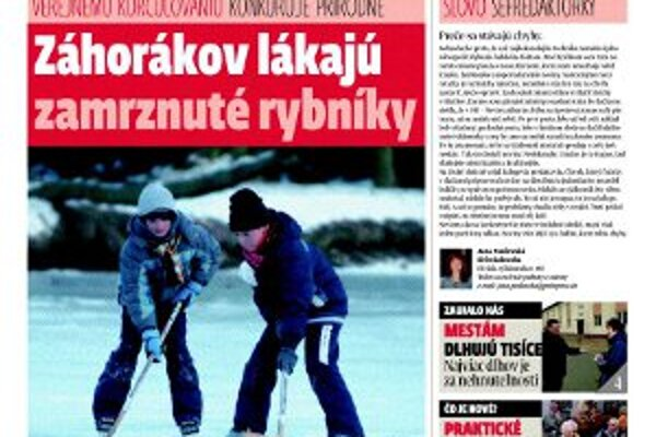 Vyšlo nové vydanie Týždenníka pre Záhorie.