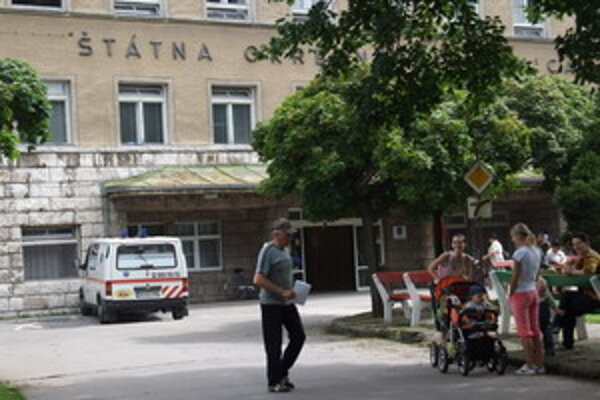 Nemocnica v Skalici.