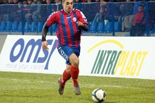 Juraj Piroska síce gól nedal, no patril k najlepším na ihrisku.