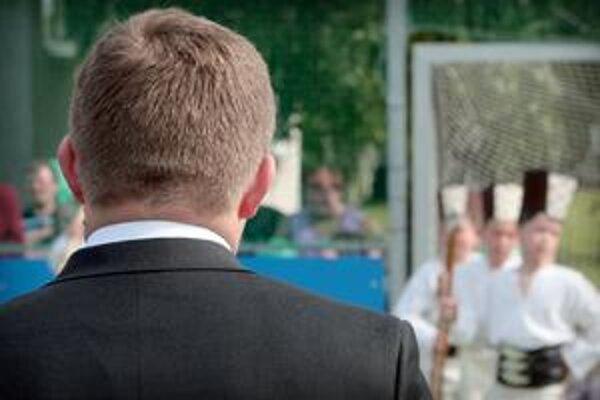 Chlapci sa môžu z ihriska v Dojči tešiť už takmer rok.