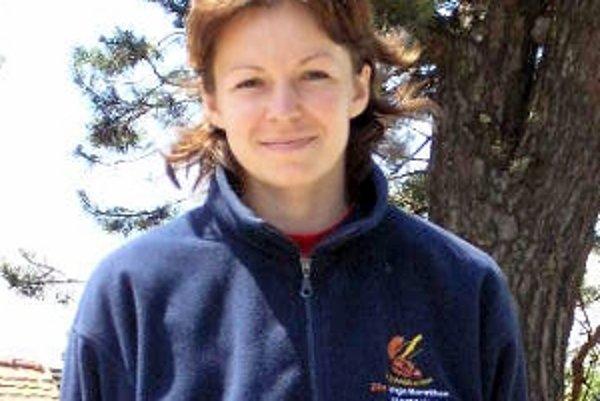 Erika Farkašová, víťazka kat. žien do 35 rokov.