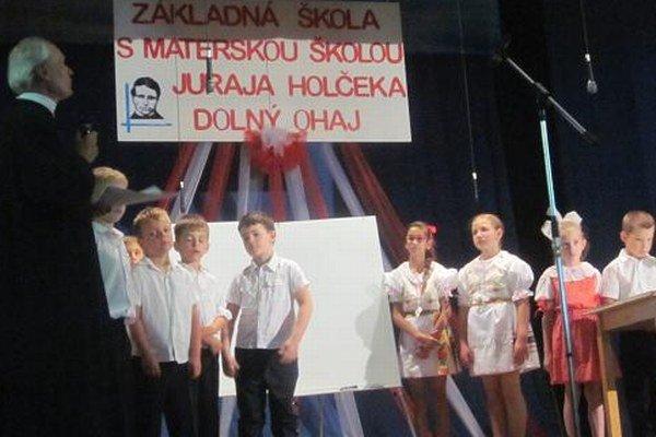Otvorená hodina J.Holčeka.