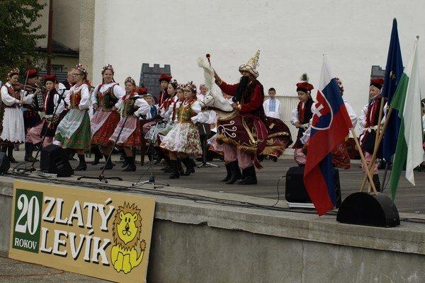 Vytúpenie hostí z Poľska.