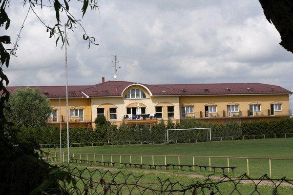 Najväčšie ubytovacie zariadenie v Radave.