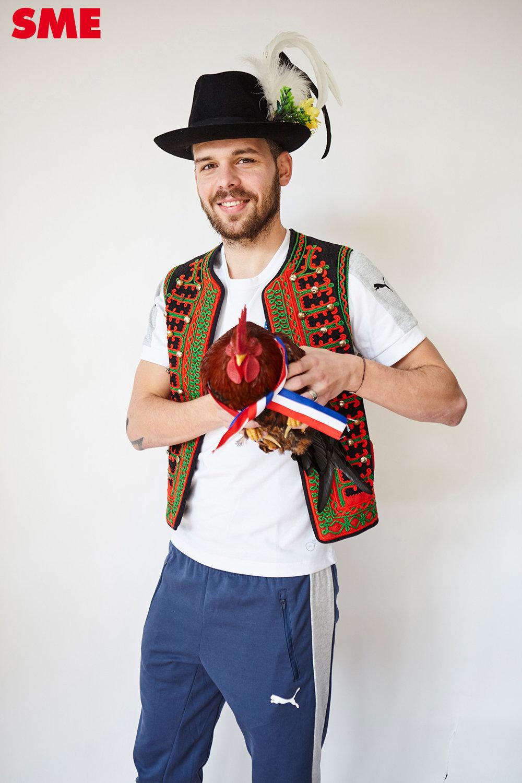 Michal Ďuriš mal väčší strach ako kohút.