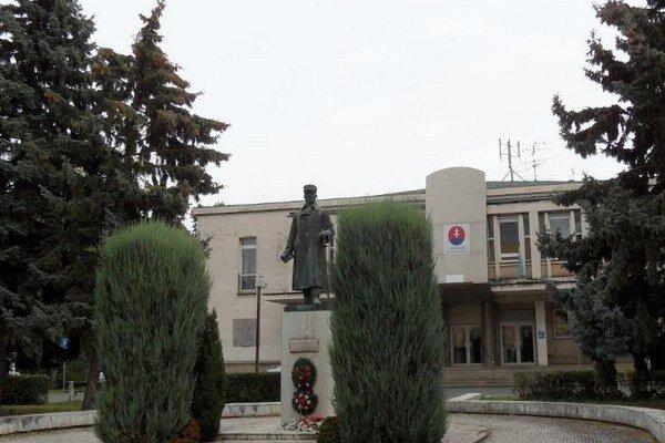 Dom Matice slovenskej v Komárne.