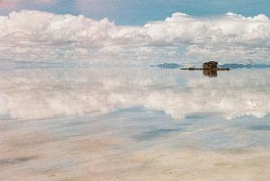 Soľné jazero Uyuni.
