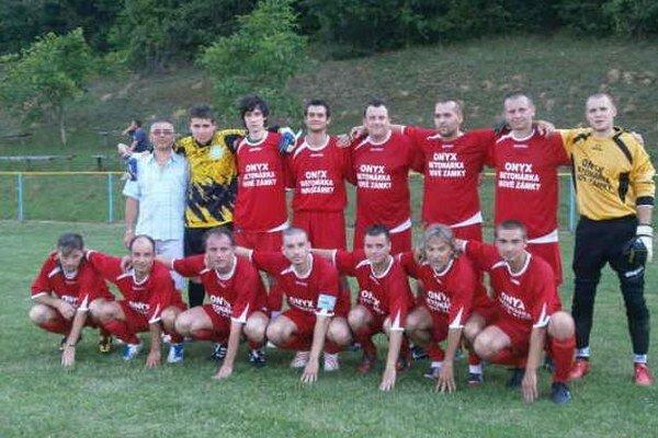 Futbalisti FC Čechy - víťaz domáceho turnaja.