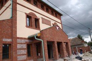 Múzeum v čase rekonštrukcie.