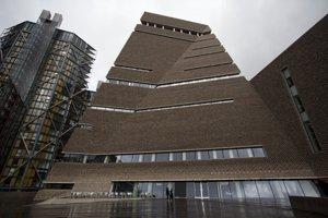 Nová budova Tate Modern v Londýne.