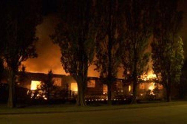 Požiar s najvyššou škodou vznikol v Komárne.