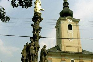 Kostol sv. Jakuba v Tužine.