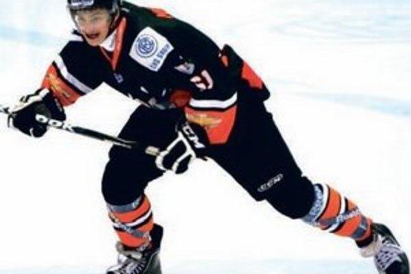 Veľký talent slovenského hokeja.