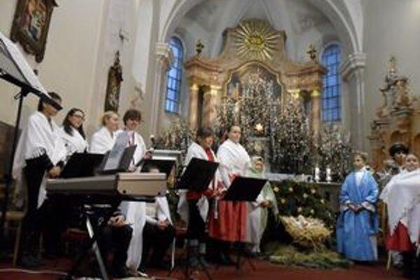 Slávnosť vo Františkánskom kostole