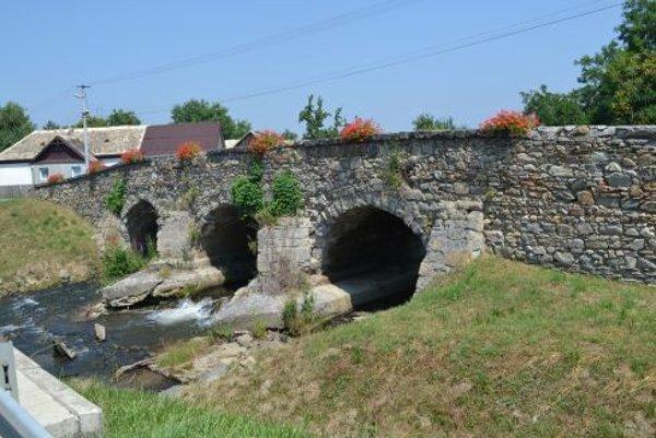 Turecký most v Poltári.