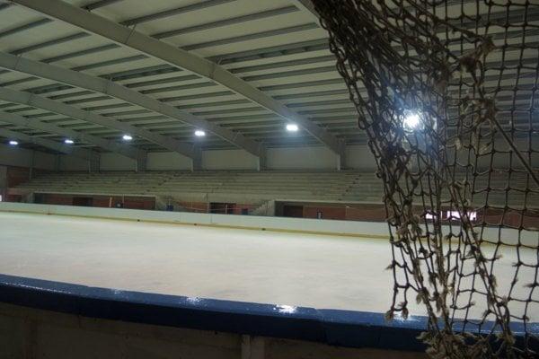 Zimný štadión v Bánovciach.