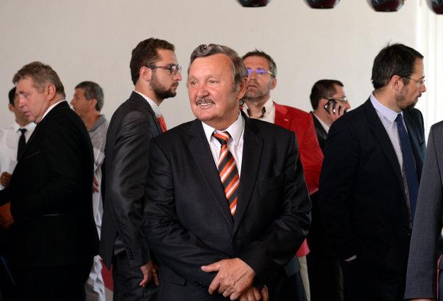 Počas výjazdového zasadnutia vlády v Rimavskej Sobote.
