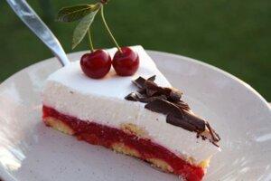 Fantastická nepečená višňová torta - recept s fotopostupom