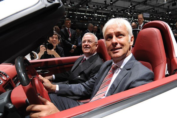 Nový šéf Volkswagenu Matthias Müller.