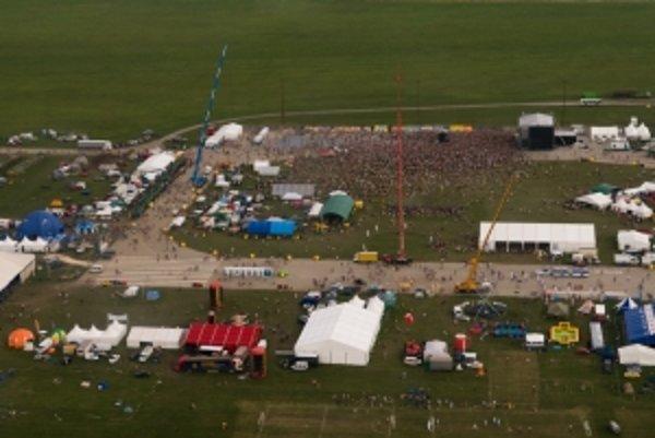 Festival z vtáčej perspektívy.