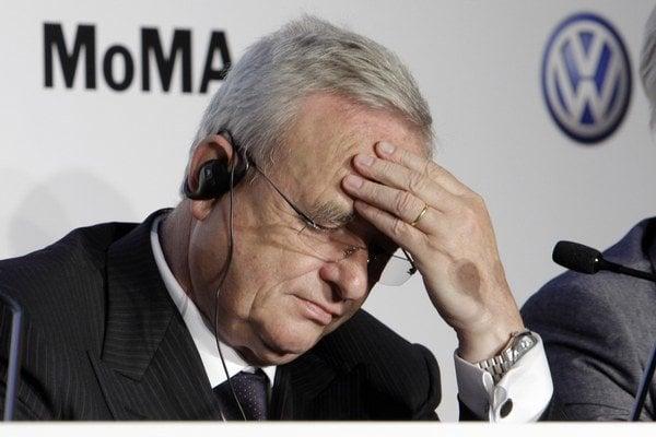 Martin Winterkorn, exšéf nemeckej automobilky Volkswagen.