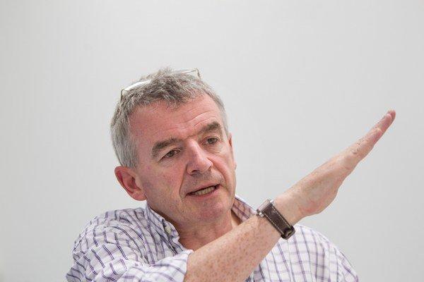 Výkonný riaditeľ leteckej spoločnosti Ryanair Michael O'leary.