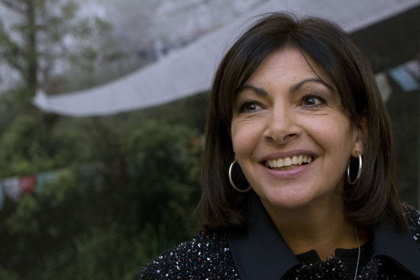 Parížska starostka Anne Hidalgová.