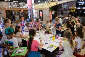 Tvorivé dielne detí sú každoročnou súčasťou programu festivalu.