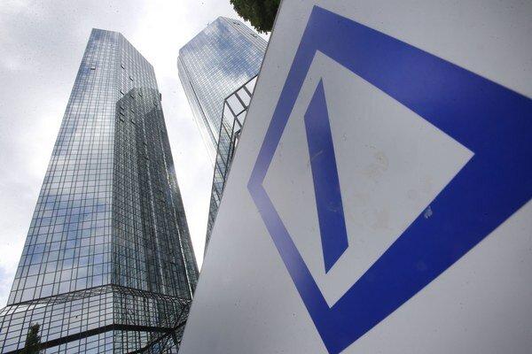 Logo Deutsche Bank.