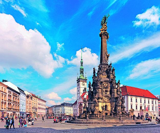 Horné námestie v Olomouci.