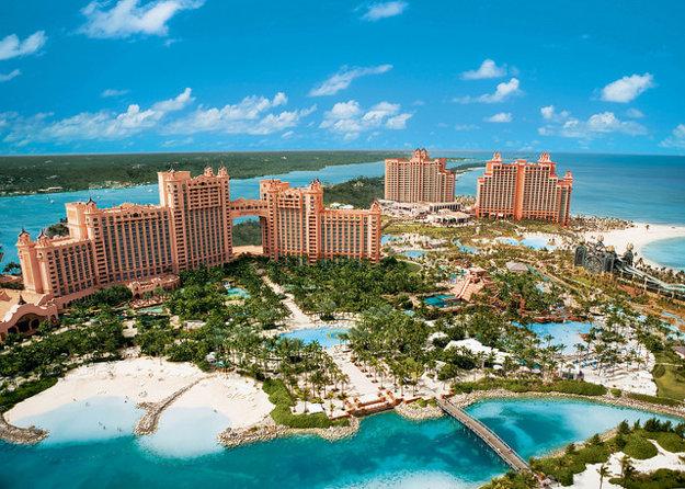 Vodný park Aquaventure je súčasťou Atlantis Paradise.