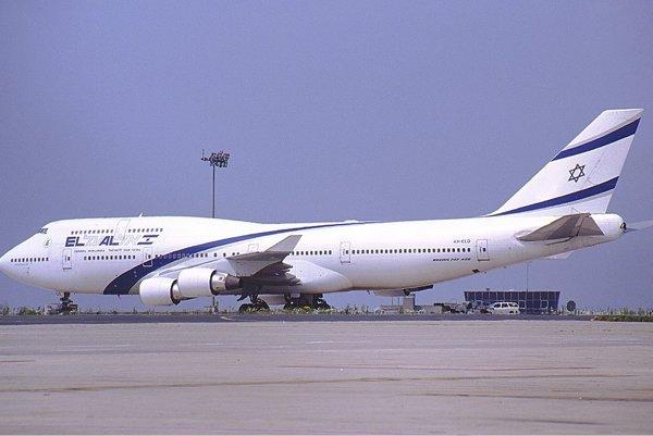 Boeing 747 izraelskej spoločnosti El Al.