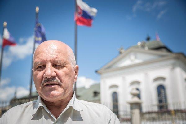 Predseda petičného výboru Ľubomír Čermák.