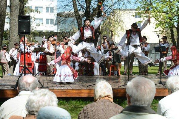 V rámci Dní Ukrajiny vlani v Košiciach vystúpil aj Zakarpatský národný zbor.