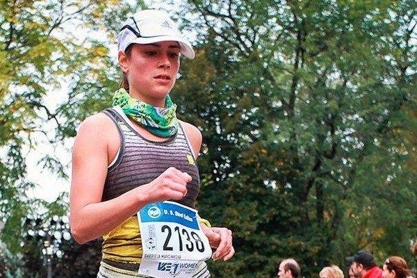 Vášnivá bežkyňa. Gabika má za sebou sedem polmaratónskych štartov.
