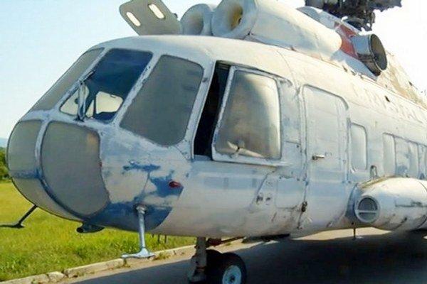 Prezidentský vrtuľník. Bude ozdobou košického múzea.
