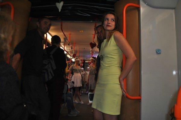 Jana Bučková nie je modelka, ale umelecká garantka projektu.