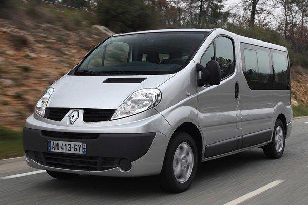 Renault Trafic. Migrantov do Bratislavy neodviezol.