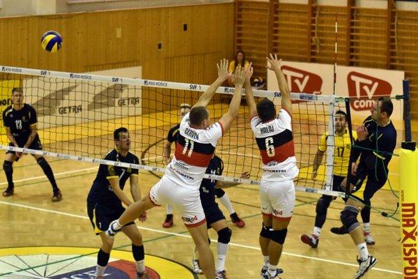 Košičania nedali Prešovu šancu. V derby zvíťazili 3:0.