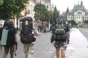 Turisti v Košiciach. Vlani ich v meste prenocovalo najviac v histórii.