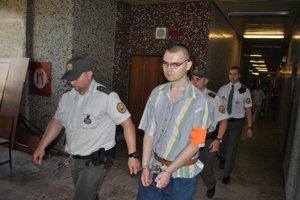 Ladislav po vynesení rozsudku.