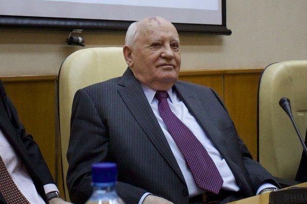 Michail Gorbačov dnes.
