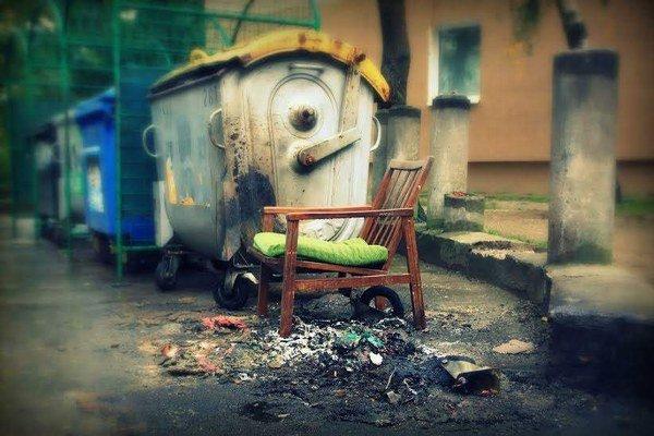 Košické skládky vyzerajú aj takto. Sídliská sú plné odpadu.