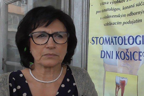Neda Markovská. Exgarantka zubného lekárstva na UPJŠ sa podieľala na organizácii akcie.
