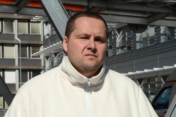 Odborový šéf. Martin Paulo.