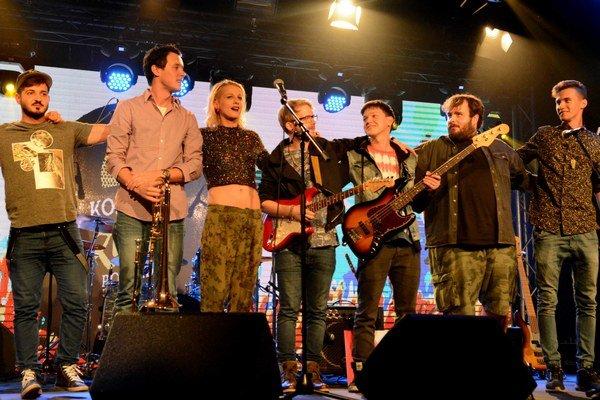 Katka Demská s kapelou. To najlepšie prišlo na záver.