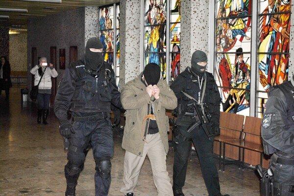 Zadržaný Čečenec.