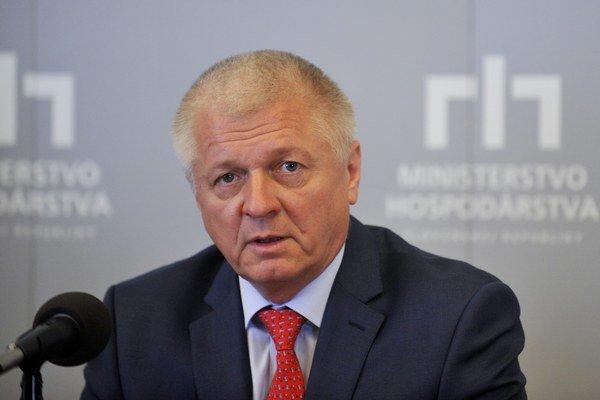 Minister hospodárstva Pavol Pavlis.